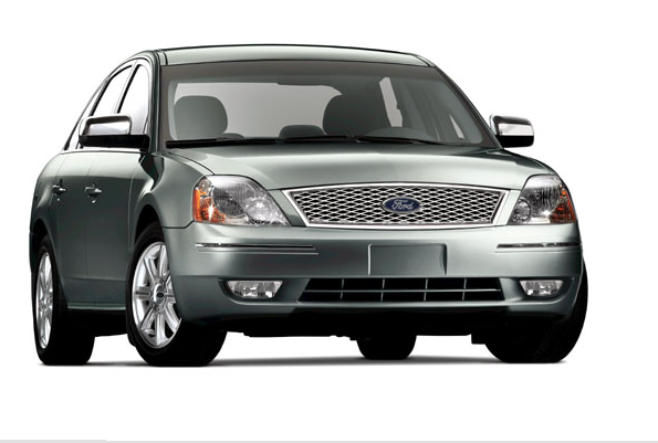 The 2007 Ford Five Hundred, exterior