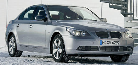 2007 BMW 5 Series, 2007 BMW 525, exterior