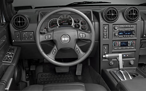 The 2007 Hummer H2 Interior, interior, manufacturer