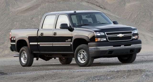 2007 Chevrolet Silverado 2500HD, The 2007 Chevrolet Silverado 2500, exterior