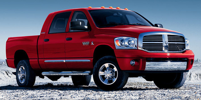 2007 Dodge Ram 2500, The 2007 Dodge Ram 3500, exterior, manufacturer