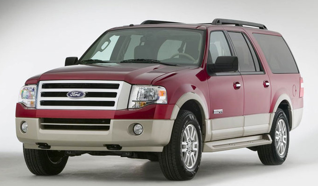 2007 Ford Expedition EL Eddie Bauer, The 2007 Ford Expedition Eddie Bauer El , exterior