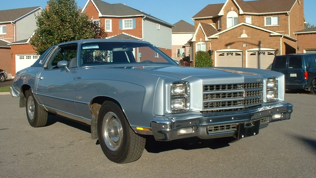 1976 Chevrolet Monte Carlo, 1976 Chev Monte Carlo Landau Coupe, Special custom interior with swivel buckets and center console.  This car is totally original., gallery_worthy