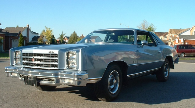 1976 Chevrolet Monte Carlo, All original.