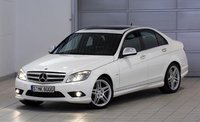 Front-quarter view of the 2008 Mercedes-Benz C-Class., gallery_worthy