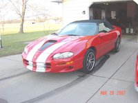 2002 Chevrolet Camaro Z28 Convertible, SLP package 345HP with 45,000 miles, gallery_worthy
