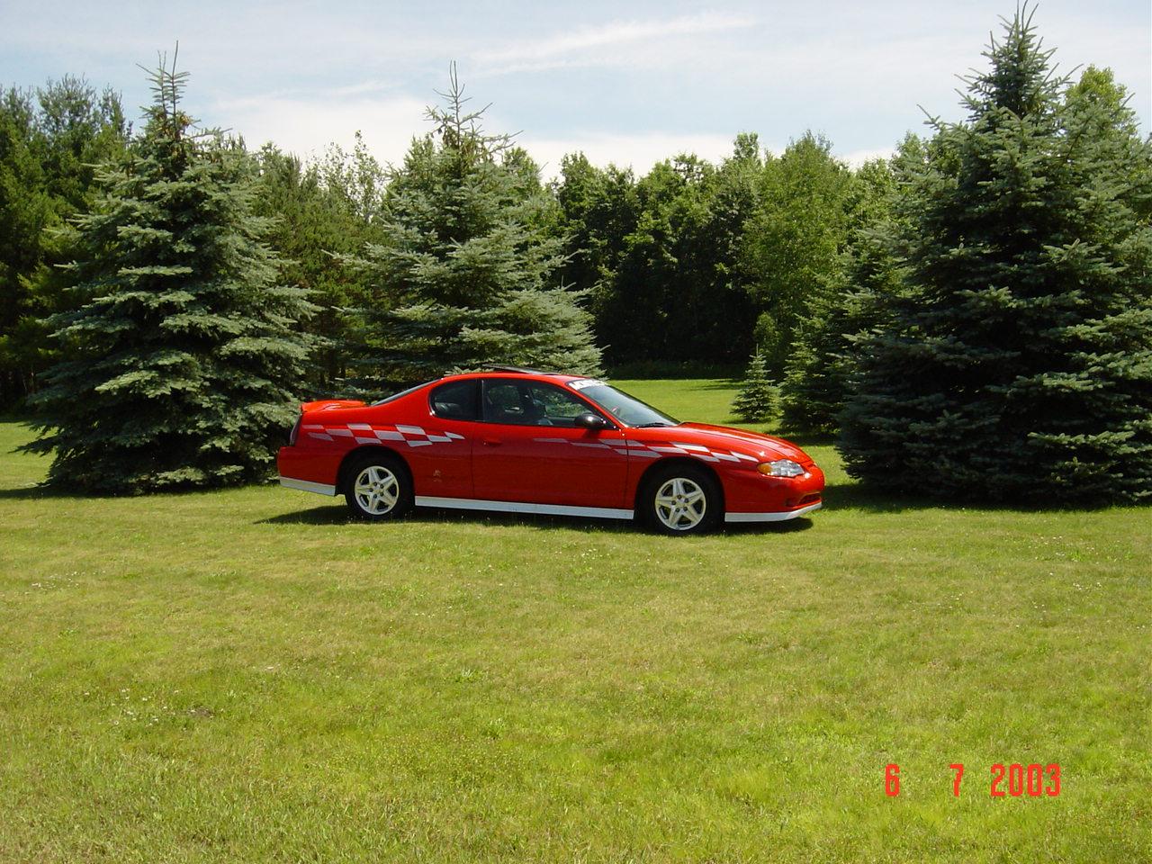 2004 Chevrolet Monte Carlo Pace Car Ed W 45000 Orig Miles
