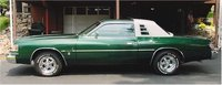 1978 Dodge Magnum, Green Magnum With Vinyl Top and Louvers