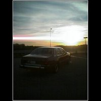 1984 Ford Tempo, Betsy watching the sun go down, gallery_worthy