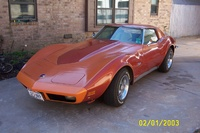 1973 Chevrolet Corvette, L-82, M-21 4-speed all original. Work in process.