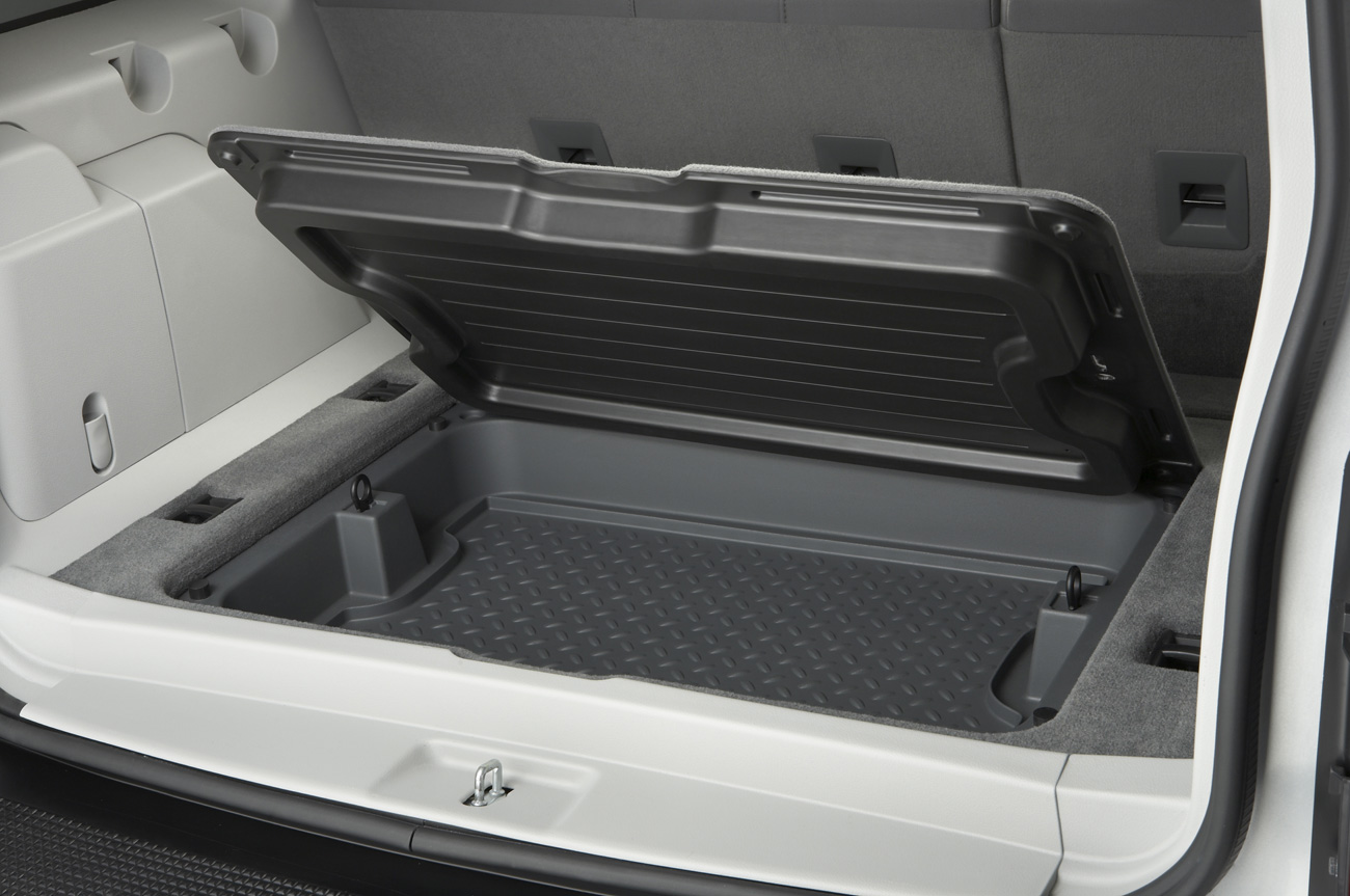 Cargo compartment of the 2008 Jeep Liberty, trunk