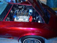 1973 Chevrolet Corvette Coupe, 73' with the tri-power