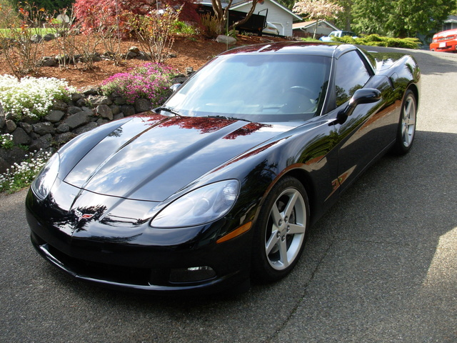 2006 Chevrolet Corvette, black loaded 2005 coupe