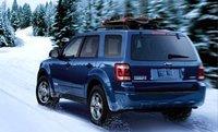 2008 Ford Escape, Rear-quarter view of the 2008 Escape, exterior, manufacturer