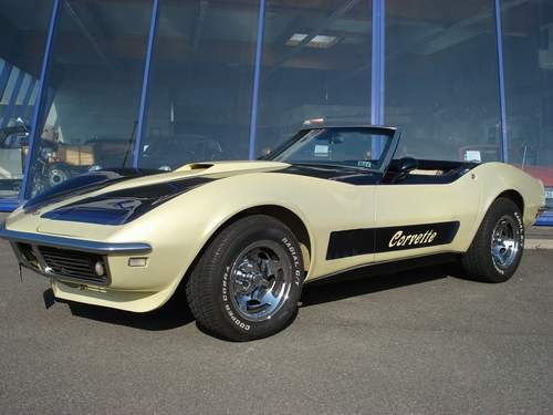 1968 Chevrolet Corvette Convertible, 3/4 AVANT, exterior, gallery_worthy