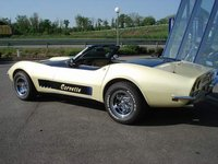1968 Chevrolet Corvette Convertible, 3/4 QUART ARRIERE