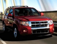 2008 Ford Escape, A front-quarter view of the 2008 Escape, manufacturer, exterior