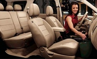2008 Ford Escape, Interior of the 2008 Escape, interior, manufacturer