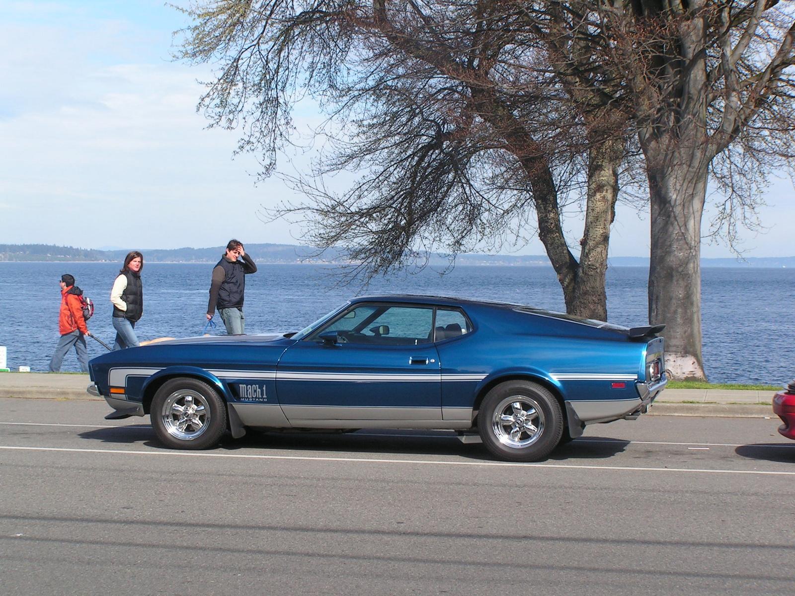 1971 Ford Mustang Mach 1, Seattle WA.