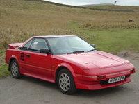1989 Toyota MR2, UK Toyota MR2 1986 in Scotland