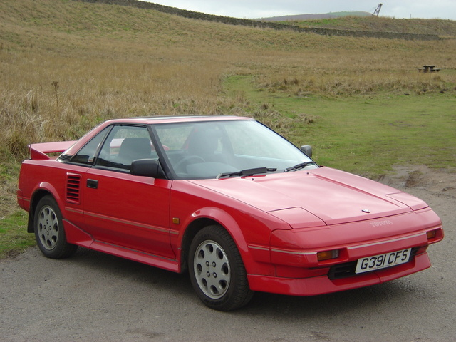 UK Toyota MR2 1986 in Scotland