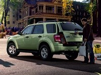 2008 Ford Escape Hybrid, Rear-quarter view of the '08 Escape Hybrid, exterior, manufacturer, gallery_worthy