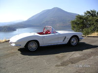 1962 Chevrolet Corvette, Hanging out over Clear Lake in California, exterior