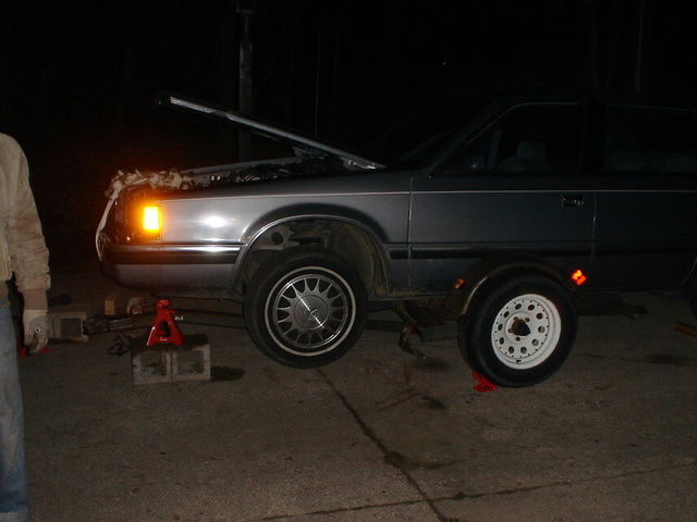 1991 Dodge Dynasty 4 Dr LE Sedan, this was the time that the water pump gave out