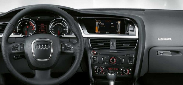 Amazing The Dashboard Of The 2008 Audi A5, Interior, Manufacturer, Gallery_worthy