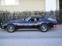 1973 Chevrolet Corvette Coupe, my lil car
