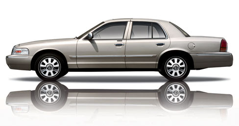 Profile of the 2008 Mercury Grand Marquis