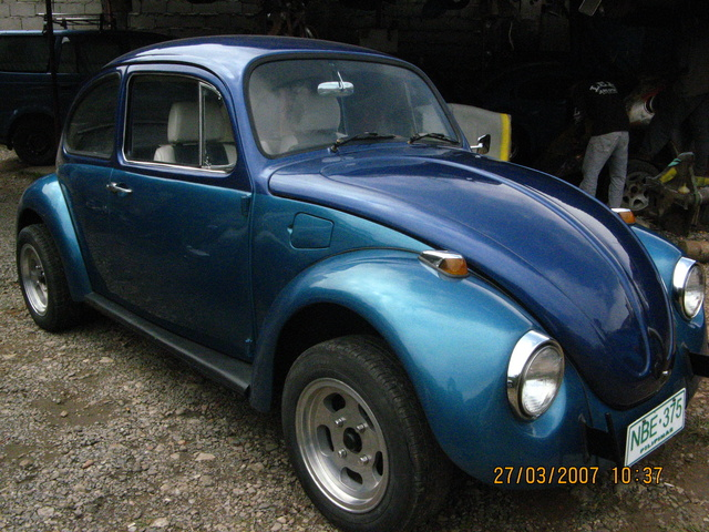Side view of 1968 beetle