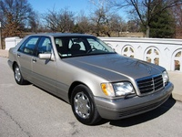 1996 Mercedes-Benz S-Class 4 Dr S420 Sedan, Picture of 1996 Mercedes-Benz S420 Mercedes-Benz S420 Sedan, exterior