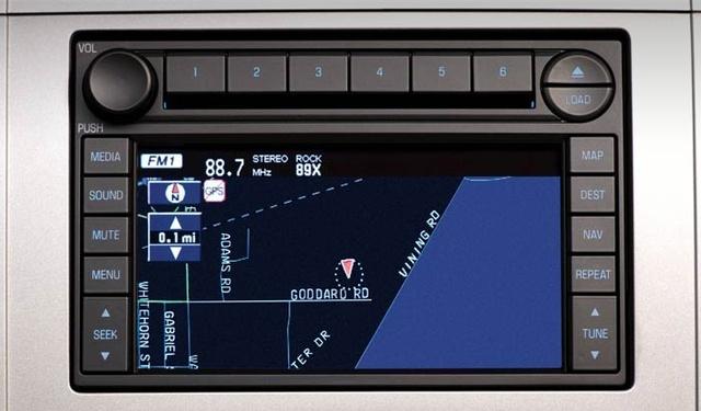 2008 Ford Escape XLS, Interior Navigation System View, Interior,  Manufacturer, Gallery_worthy