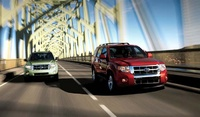 2008 Ford Escape XLS, Front Bumper View, manufacturer, exterior