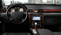 2008 Ford Taurus, Driver's Wheel View, manufacturer, interior