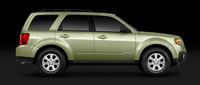 2008 Mazda Tribute, Side View, manufacturer, exterior