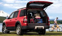 2007 Ford Explorer XLT, Back View, exterior, manufacturer, gallery_worthy