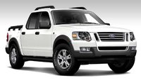 2007 Ford Explorer Sport Trac XLT, Front Corner View, exterior, manufacturer, gallery_worthy