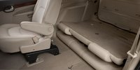 2007 Buick Rendezvous, folded seats, interior, manufacturer
