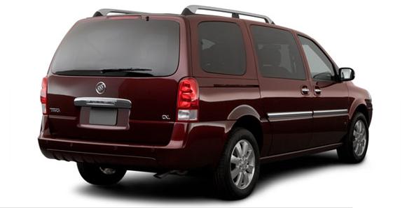 2007 Buick Terraza, rear view, exterior, manufacturer