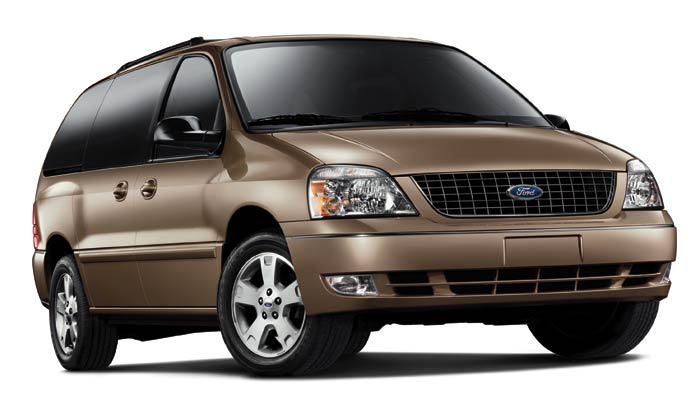 2007 Ford Freestar, Front Side View, exterior, manufacturer
