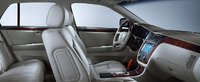 2007 Cadillac DTS, 07 Cadillac DTS front seat, interior, manufacturer