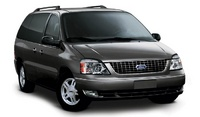 2007 Ford Freestar, Front Side View, manufacturer, exterior