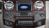 2008 Ford F-250 Super Duty Lariat Super Cab LB, Standard Center Dash, manufacturer, interior