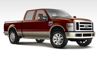 2008 Ford F-250 Super Duty XL Super Cab, Side View, exterior, manufacturer