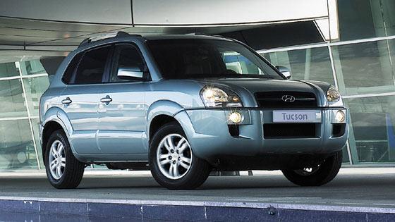 Hyundai Tucson 2008. 2007 Hyundai Tucson 4 Dr SE,