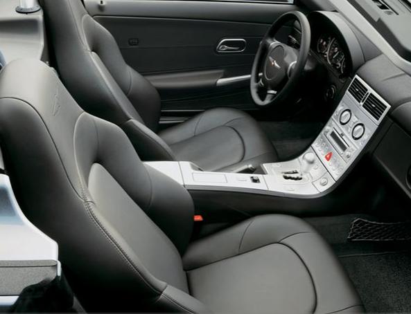 2007 Chrysler Crossfire Uk Version. Chrysler Crossfire Interior