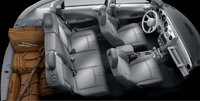 2007 Chrysler PT Cruiser, aerial view, interior, manufacturer