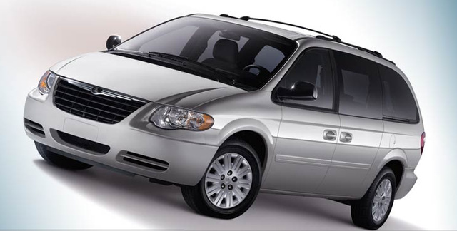 2007 Chrysler Town & Country, exterior, manufacturer